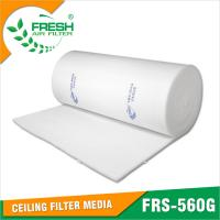 Wholesale EU5 (Eurovent ) Ceiling filter  in spray booth air inflow system from china suppliers