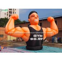 Wholesale Giant Gym Muscle Man Advertising Inflatables for Parks / Square from china suppliers