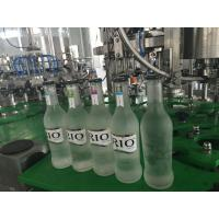 Wholesale Small Glass Bottle Champagne / Sparkling Wine Filling Machine , High Efficiency 3 in1 Filling Machine from china suppliers