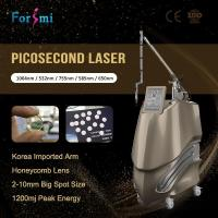 Wholesale Optional 650 580 755 Picosecond Nd Yag Laser Enlighten Pico Laser For Tattoo Removal from china suppliers