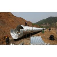 Wholesale Panel CE Culvert Pipe Making Machine , Wall Sheet Steel Silo Corrugated Roll Forming Machine from china suppliers