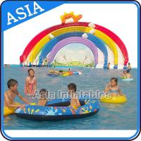 Wholesale Ourdoor Playground Inflatable Water Park With Pool , Inflatable Swimming Combo , Water Sports from china suppliers