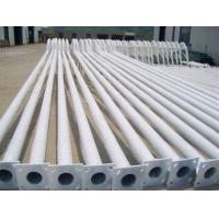 Wholesale 8m 10m 12m lamp pole, galvanized street lighting poles from china suppliers