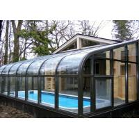 Wholesale 10mm Ultra White Low-E Curved Tempered Glass Panel For Greenhouse , Heat-resistant from china suppliers