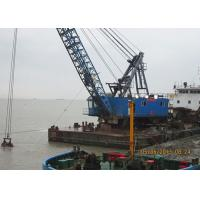 Quality High Performance Offshore Marine Cranes With Clamshell Grab Bucket 70 T Lifting Capacity for sale