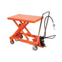 Wholesale Manual Operating Pneumatic Lift Table Cart Small Scissor For Hospital from china suppliers