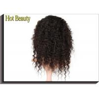 Wholesale Ture To Length Hair Full Lace Wig Kinky Curl Middle & Free Part Customize from china suppliers