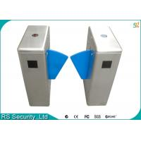Wholesale Stainless Steel Flap Gate IR Sensor Intelligent Security Turnstile System from china suppliers