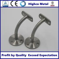 Buy cheap Handrail Bracket for Stainless Steel Balustrade 42.4mm Glass Fitting Handrail from wholesalers