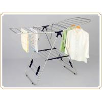 Wholesale X-type Floor Standing Towel Rack , Sturdy Folding Clothes Drying Rack from china suppliers