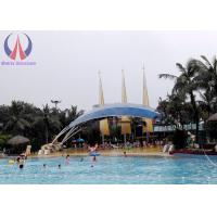 Waterproof Shade Sails Tensioned Membrane Structures With Customised Shape