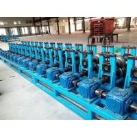 Quality GI. Carbon Steel Top Hat Channel Roll Forming Machine With 1.5 Inch Chain of Transmission for sale