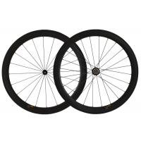 Wholesale 700c Carbon Road Bike Wheels High Resin Fiber 50mm Depth Racing Wheels from china suppliers