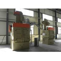Wholesale Rubber Belt Tumble Type Shot Blaster Machine for Die Casting Parts from china suppliers
