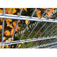 Wholesale Highly Security Pvc Coated Fence / Oxidation Resisting Black Welded Wire Fence from china suppliers