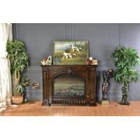 Buy cheap Hotel / Club Classical European Electric Fireplace With Heater Remote Control from wholesalers