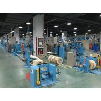 Wholesale Sky Blue Plastic Extrusion Line , electrical wire making machine Max Speed 600M/min from china suppliers