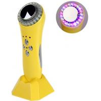 Quality No Side Effects Yellow Color LED Light Therapy Ultrasonic Beautiful Instrument for sale