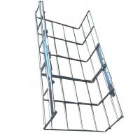 Wholesale 200*100mm straight welded wire mesh basket cable tray, stainless steel 201 / 202 / 304 from china suppliers
