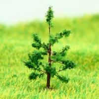 Wholesale N Gauge Train Layout Miniature Model Trees Green Avenue Wire Tree Hoop Pine 3.2cm from china suppliers