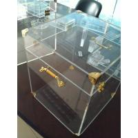 Wholesale 4mm Acrylic Display Case Clear , Plexiglass Storage Boxes with Lids from china suppliers