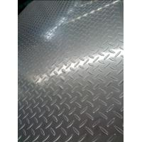 Wholesale 304 Cold Rolled And Hot rolled Tear Drop Stainless Steel Chequered Plate For Skid Resistance from china suppliers