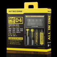 Wholesale Nitecore D4 LCD intelligent battery charger for IMR/Li-ion/Ni-MH/Hi-Cd and LiFePO4 rechargeable batteries from china suppliers