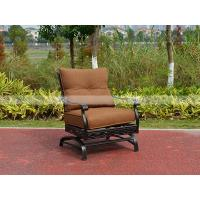 Wholesale BML13126 alumicast motion chair set with side table and ottoman best design outdoor furniture sofa from china suppliers