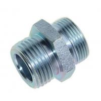 Wholesale Metric / Un Unf Thread Hydraulic Adaptor Fittings O-Ring Seal Carbon Steel from china suppliers