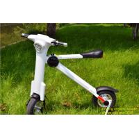 Wholesale White Efficiency 48V Car portable folding mini electric scooter with bluetooth from china suppliers