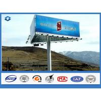 Wholesale Trivision Billboard street pole advertising  Anti - rust / Anti - corrosion feature 2 ~ 15mm thickness from china suppliers