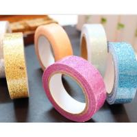 Wholesale 15mm*4m pretty pasty glitter tape decorative tape pressure sensitive tape from china suppliers