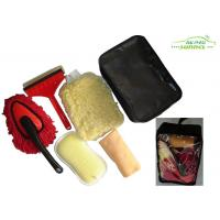 Wholesale portable 6 Pieces car washing brush kit with Window Eraser / Dust Brush from china suppliers