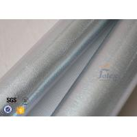 Wholesale Reflective Aluminium Foil Silver Coated High Silica Glass Fiber 700gsm 0.8mm from china suppliers