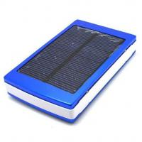 Wholesale 10000mAh Portable Solar Charger Portable Power Bank External Backup Battery from china suppliers