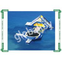Wholesale Inflatable Floating Water Park Games / Giant Adults Water Trampoline from china suppliers
