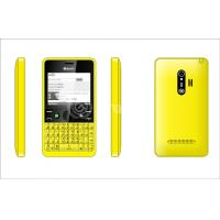 Wholesale 2.31 Inch Qwerty Keypad Mobile Phone , Dual SIM Cards and Four frequency from china suppliers