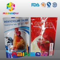 Wholesale Custom Your Own Logo Stand Up Pet / Tukey Food Storage Pouch With Zipper from china suppliers