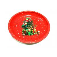 Wholesale Metal Tin Plate Restaurant Circle Serving Trays For Cookie / Candy from china suppliers