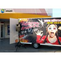 Wholesale Luxury Motion Chair Truck Mobile 5D Cinema With Snow / Bubble / Windy Simulation from china suppliers