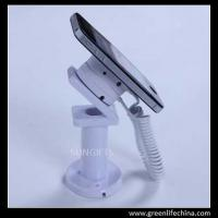 Wholesale Custom pearl white classic anti-theft mobile phone display holder without alarming from china suppliers