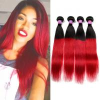 Quality Black Dark Roots Ombre Human Hair Extensions Ombre Hair Weave For Black Women for sale