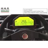 China 12v Turbo Boost Gauge Universal Combination -1 To 3 Bar DO904II Black Shell Color on sale