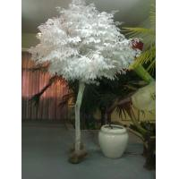 Quality white leaves indoor&outdoor decoration bonsai /artificial banyan tree for sale