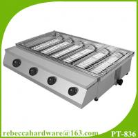Wholesale High quality commercial stainless steel gas smokeless BBQ grill from china suppliers