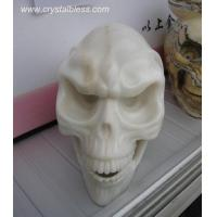 Wholesale White Jade ET Skull from china suppliers