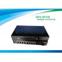 Quality Full Duplex Optical Fiber Switch 8 Port 1536 Bytes Frame UTP Cable for sale