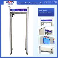 Wholesale 8 detecting zones Walk Through Gate Large LCD dIsplay full body scanner and high sensitivity and weatherproof from china suppliers