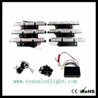 Wholesale 6 PCS 9 LED FLASHING EMERGENCY WARNING STROBE WHITE LIGHT BUMPER GRILLE DECK HOT from china suppliers