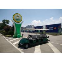 Wholesale 48V 4KW Battery Operated 8 Seater Golf Carts , Electric Sightseeing Car from china suppliers